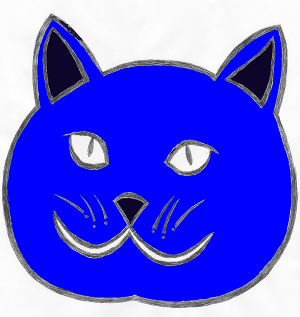 Blue Cat Sleep Helper Logo (tm)
